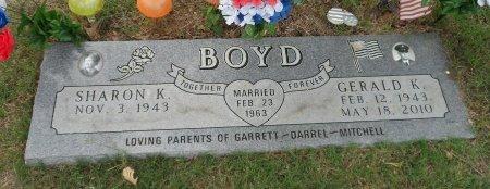 BOYD, GERALD K - Parker County, Texas | GERALD K BOYD - Texas Gravestone Photos
