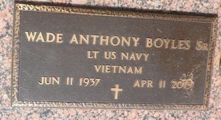 BOYLES, SR (VETERAN  VIET), WADE ANTHONY - Parker County, Texas | WADE ANTHONY BOYLES, SR (VETERAN  VIET) - Texas Gravestone Photos