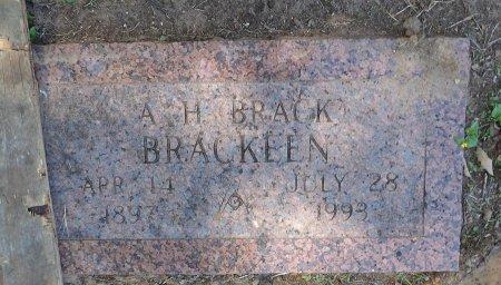 BRACKEEN, ALVORD HART - Parker County, Texas | ALVORD HART BRACKEEN - Texas Gravestone Photos