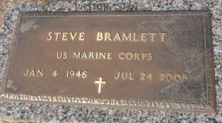BRAMLETT (VETERAN), STEVEN FRED - Parker County, Texas | STEVEN FRED BRAMLETT (VETERAN) - Texas Gravestone Photos