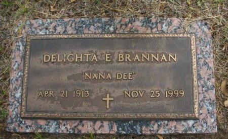 BRANNAN, DELIGHTA E. - Parker County, Texas | DELIGHTA E. BRANNAN - Texas Gravestone Photos
