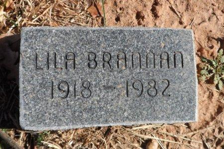 BRANNAN, LILA BEATRICE - Parker County, Texas | LILA BEATRICE BRANNAN - Texas Gravestone Photos