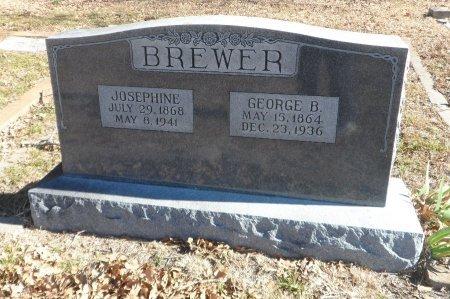 BREWER, JOSEPHINE - Parker County, Texas   JOSEPHINE BREWER - Texas Gravestone Photos