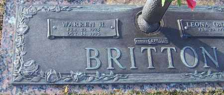 BRITTON, WARREN HARDING - Parker County, Texas   WARREN HARDING BRITTON - Texas Gravestone Photos