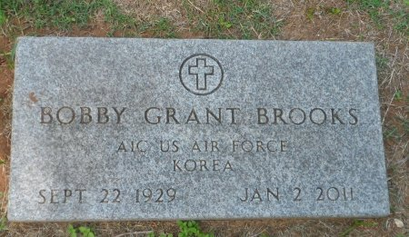 BROOKS (VETERAN  KOR), BOBBY GRANT - Parker County, Texas | BOBBY GRANT BROOKS (VETERAN  KOR) - Texas Gravestone Photos