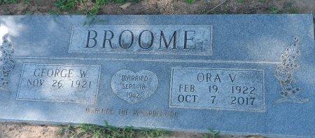 RHODEN BROOME, ORA VEE - Parker County, Texas | ORA VEE RHODEN BROOME - Texas Gravestone Photos