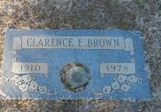 BROWN, CLARENCE ELDER - Parker County, Texas | CLARENCE ELDER BROWN - Texas Gravestone Photos