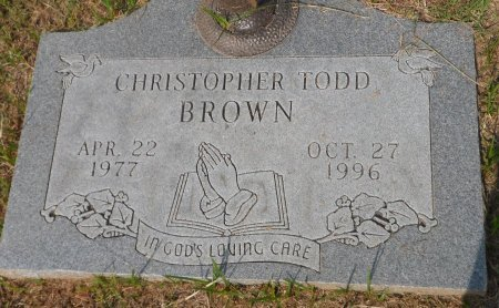 BROWN, CHRISTOPHER TODD - Parker County, Texas   CHRISTOPHER TODD BROWN - Texas Gravestone Photos