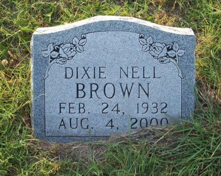 BROWN, DIXIE NELL - Parker County, Texas | DIXIE NELL BROWN - Texas Gravestone Photos