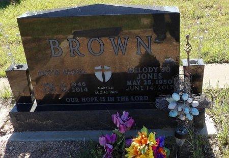 BROWN, DAVID ERROL - Parker County, Texas | DAVID ERROL BROWN - Texas Gravestone Photos