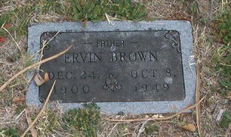 BROWN, ERVIN - Parker County, Texas   ERVIN BROWN - Texas Gravestone Photos