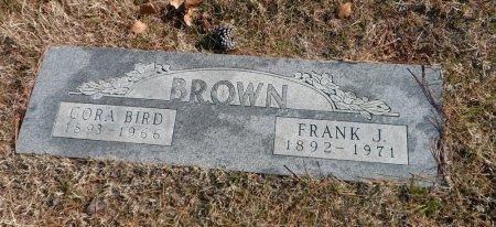 BROWN, CORA BIRD - Parker County, Texas | CORA BIRD BROWN - Texas Gravestone Photos