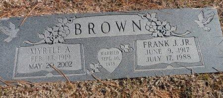 BROWN, MYRTLE ALICE - Parker County, Texas   MYRTLE ALICE BROWN - Texas Gravestone Photos