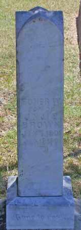 BROWN, HOMER W - Parker County, Texas   HOMER W BROWN - Texas Gravestone Photos