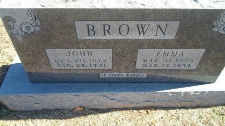 BROWN, EMMA BELLE - Parker County, Texas | EMMA BELLE BROWN - Texas Gravestone Photos