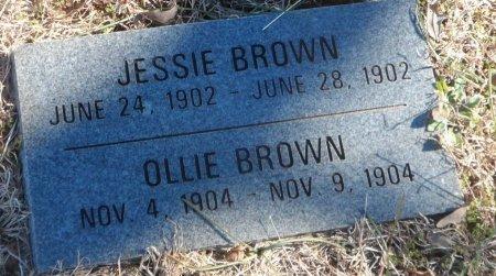 BROWN, JESSIE - Parker County, Texas | JESSIE BROWN - Texas Gravestone Photos