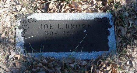 BROWN, JOE L - Parker County, Texas | JOE L BROWN - Texas Gravestone Photos