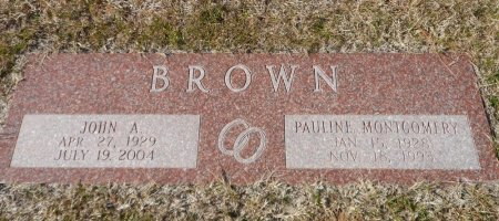 BROWN, JOHN ALBERT - Parker County, Texas | JOHN ALBERT BROWN - Texas Gravestone Photos