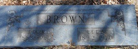 BROWN, LELA - Parker County, Texas | LELA BROWN - Texas Gravestone Photos