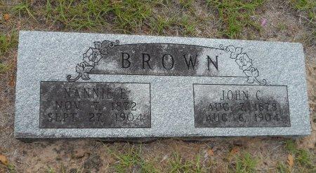 BROWN, NANCY ELIZABETH - Parker County, Texas | NANCY ELIZABETH BROWN - Texas Gravestone Photos