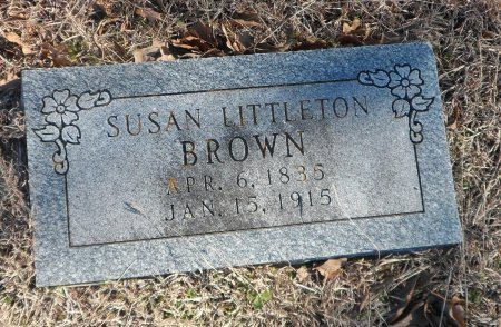 BROWN, MARY SUSANNA - Parker County, Texas | MARY SUSANNA BROWN - Texas Gravestone Photos