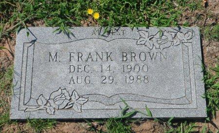 BROWN, MAYNARD FRANK - Parker County, Texas   MAYNARD FRANK BROWN - Texas Gravestone Photos