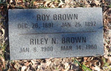 BROWN, RILEY N. - Parker County, Texas | RILEY N. BROWN - Texas Gravestone Photos