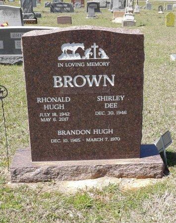 BROWN, BRANDON HUGH - Parker County, Texas | BRANDON HUGH BROWN - Texas Gravestone Photos