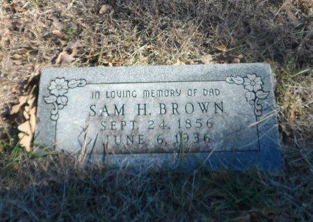 BROWN, SAMUEL HOUSTON - Parker County, Texas | SAMUEL HOUSTON BROWN - Texas Gravestone Photos