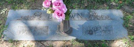 BROWN, FLORA BELLE - Parker County, Texas | FLORA BELLE BROWN - Texas Gravestone Photos