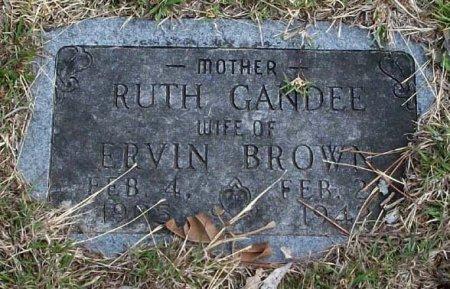 BROWN, THELMA RUTH - Parker County, Texas   THELMA RUTH BROWN - Texas Gravestone Photos