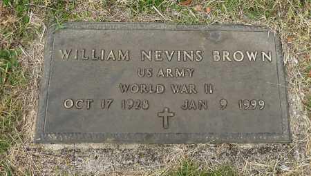 BROWN, WILLIAM NEVINS - Parker County, Texas | WILLIAM NEVINS BROWN - Texas Gravestone Photos