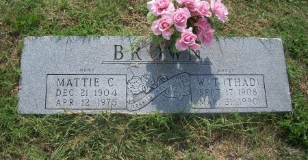 BROWN, MARTHA CATHERINE - Parker County, Texas | MARTHA CATHERINE BROWN - Texas Gravestone Photos