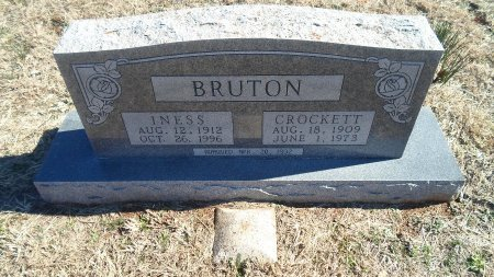 BERRY BRUTON, RUBY INESS - Parker County, Texas | RUBY INESS BERRY BRUTON - Texas Gravestone Photos