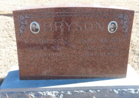 BRYSON, MARY CHOATE - Parker County, Texas | MARY CHOATE BRYSON - Texas Gravestone Photos