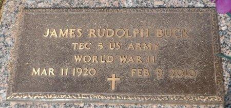BUCK (VETERAN WWII), JAMES RUDOLPH - Parker County, Texas | JAMES RUDOLPH BUCK (VETERAN WWII) - Texas Gravestone Photos