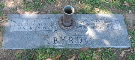 BYRD, JOE DALE - Parker County, Texas | JOE DALE BYRD - Texas Gravestone Photos