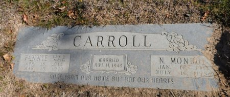 CARROLL, FANNIE MAE - Parker County, Texas | FANNIE MAE CARROLL - Texas Gravestone Photos