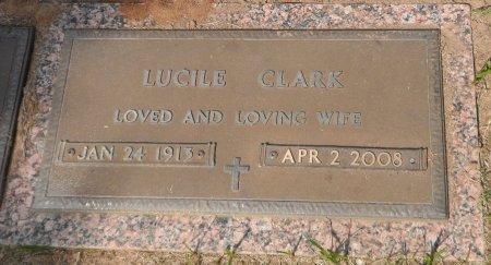GRESHAM CLARK, LUCILE M. - Parker County, Texas | LUCILE M. GRESHAM CLARK - Texas Gravestone Photos