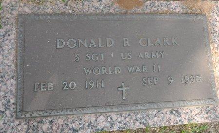CLARK (VETERAN  WWII), DONALD RADLEY - Parker County, Texas | DONALD RADLEY CLARK (VETERAN  WWII) - Texas Gravestone Photos