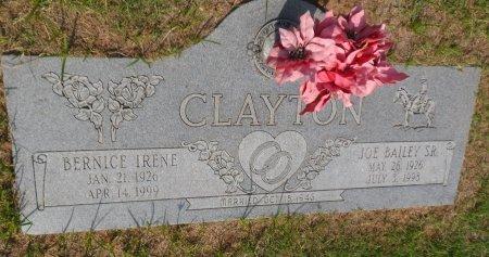 CLAYTON, BERNICE IRENE - Parker County, Texas | BERNICE IRENE CLAYTON - Texas Gravestone Photos