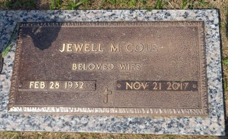 LOFLAND COLE, JEWELL MARIE - Parker County, Texas | JEWELL MARIE LOFLAND COLE - Texas Gravestone Photos