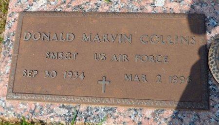COLLINS (VETERAN), DONALD MARVIN - Parker County, Texas | DONALD MARVIN COLLINS (VETERAN) - Texas Gravestone Photos