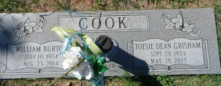 COOK, WILLIAM BURTON - Parker County, Texas | WILLIAM BURTON COOK - Texas Gravestone Photos