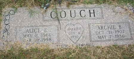 COUCH, ARCHIE BENJAMIN - Parker County, Texas | ARCHIE BENJAMIN COUCH - Texas Gravestone Photos