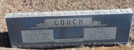 HALL COUCH, EFFIE MAUD - Parker County, Texas | EFFIE MAUD HALL COUCH - Texas Gravestone Photos