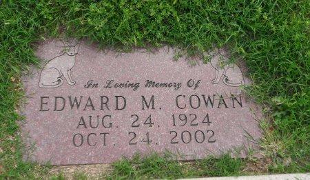 COWAN, EDWARD MARION - Parker County, Texas | EDWARD MARION COWAN - Texas Gravestone Photos
