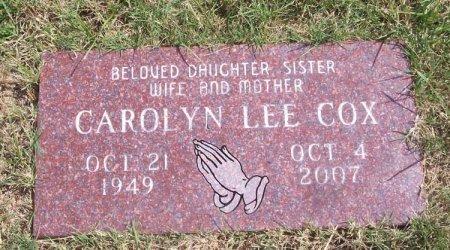 COX, CAROLYN LEE - Parker County, Texas | CAROLYN LEE COX - Texas Gravestone Photos