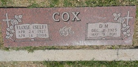 COX, D. M. - Parker County, Texas | D. M. COX - Texas Gravestone Photos