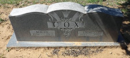 COX, EMMETT T. - Parker County, Texas | EMMETT T. COX - Texas Gravestone Photos
